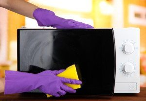 Microwave Oven Odors