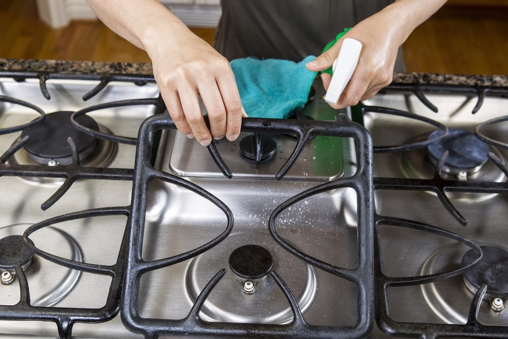 Stovetop Cleaning