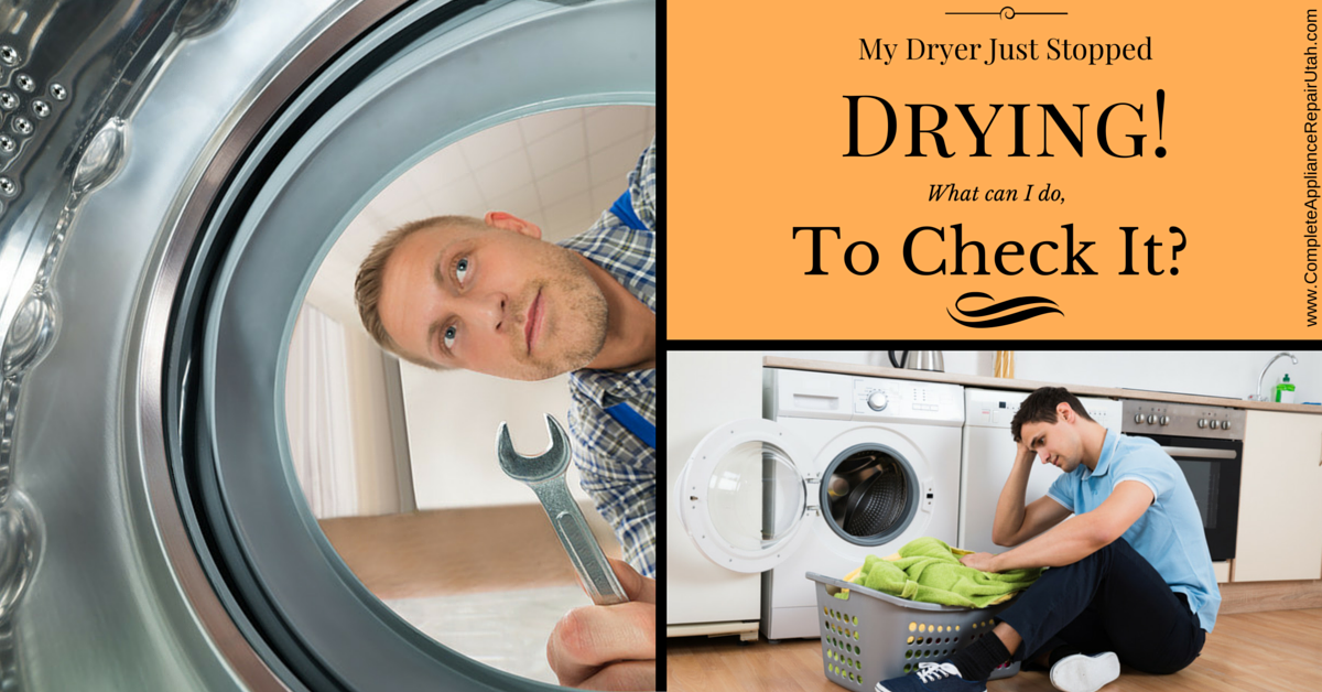 Dryer not drying clothes